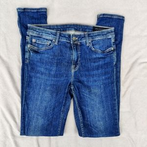 All Saints Liv Skinny Jeans Medium Blue Wash